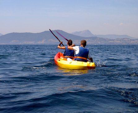 Découvrir la Presqu'île de Giens en Kayak