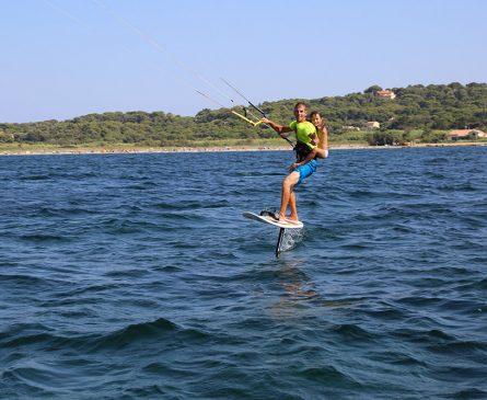 Camping idéal pour pratiquer le kitesurf