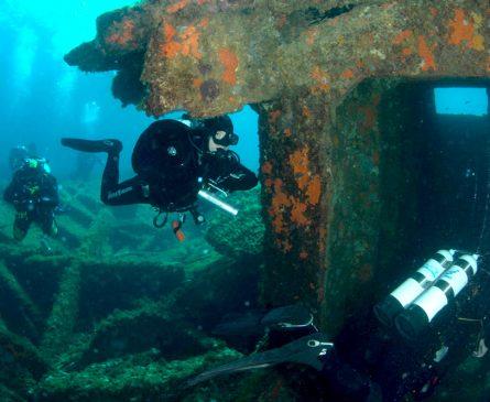 Pratiquer la plongée dans le parc national de Port Cros