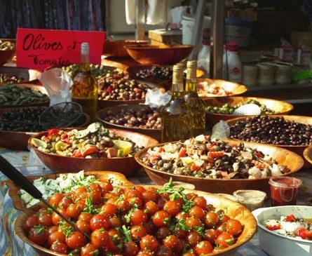 Gastronomie locale provencale