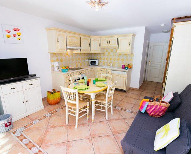 Appartement avec Baignoire sur la Presqu'île de Giens