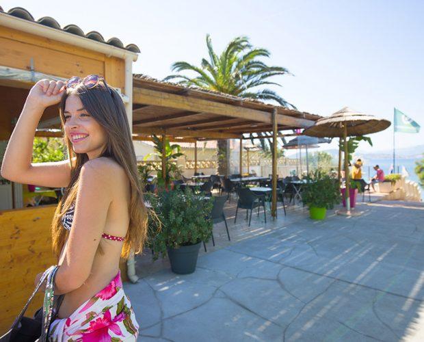 Camping 4 étoiles avec restaurant avec vue Méditerranée
