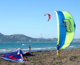 Kitesurf à proximité du Camping de Giens